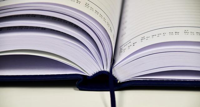 Un agenda publicitaire personnalise est tres pratique