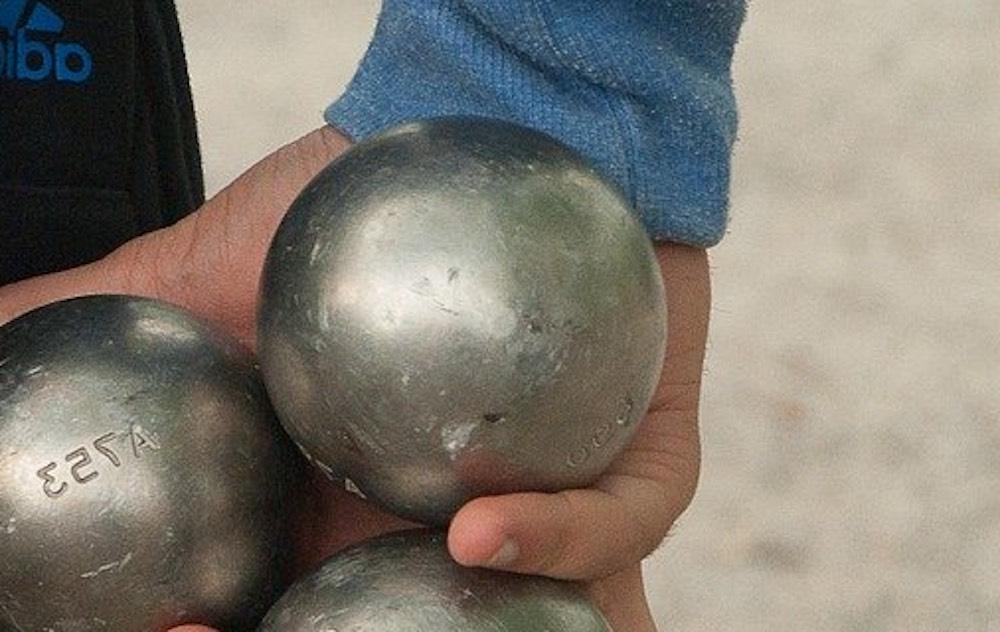 boules de pétanque en bronze italiennes